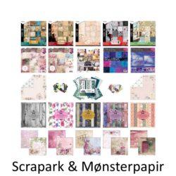 Scrapark og Mønsterpapir