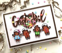 Anemone Design Stempel – Happy Christmas