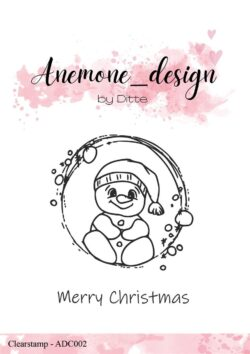 Anemone Design Stempel – Let it snow