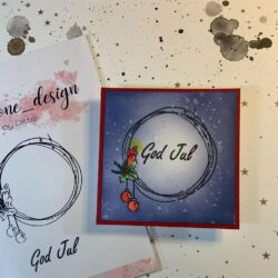 Anemone Design Stempel – God  Jul