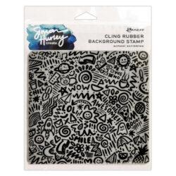 Simon Hurley – Baggrundsstempel – School scribbles