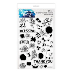 Simon Hurley – Stempel – Doodle florals
