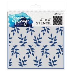 Simon Hurley – Stencil – Leafy greens