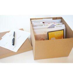Ekstra indelings taps til opbevaringskassen