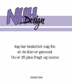 NHH Design Stempel – Jeg har besluttet mig