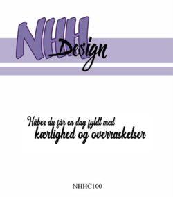 NHH Design Stempel – Håber du får en dag