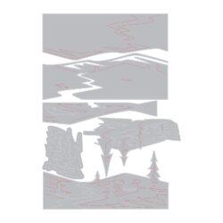 Sizzix/Tim Holtz Die – Snowscape