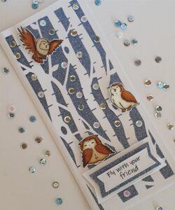 Anemone Design Stempel – Owls