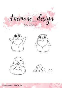 Anemone Design Stempel – Penguins