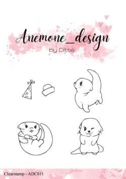 Anemone Design Stempel – Otter-1
