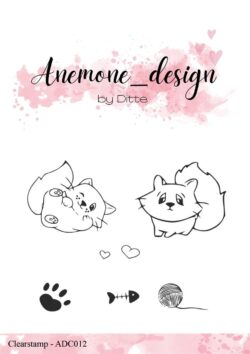 Anemone Design Stempel – Cats