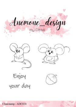 Anemone Design Stempel – Mice