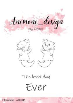 Anemone Design Stempel – Otter-2