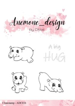 Anemone Design Stempel – Hippos