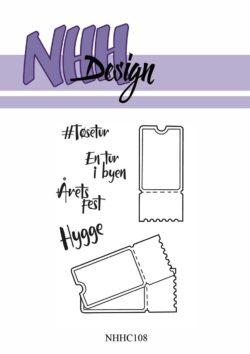 NHH Design Stempel – Tøseturs billetter