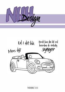 NHH Design Stempel – Tøsebil