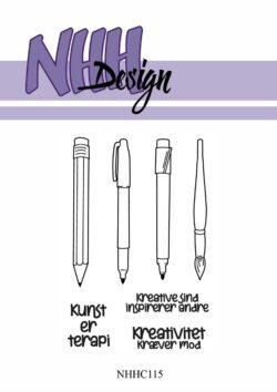 NHH Design Stempel – Kreativt værktøj
