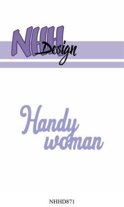 NHH Design Die – Handy woman