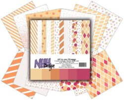 NHH – Paperpad – 30,5 x 30,5 cm – All in one – Orange