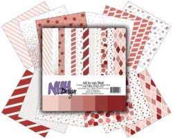 NHH – Paperpad – 30,5 x 30,5 cm – All in one – Red