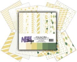 NHH – Paperpad – 30,5 x 30,5 cm – All in one – Yellow