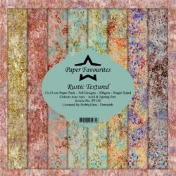 Paper Favourites – Paperpad – 15×15 cm – Rustic Textured