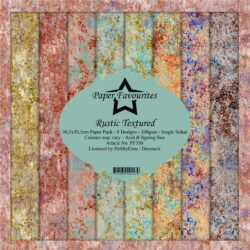 Paper Favourites – Paperpad – 30,5×30,5 cm – Rustic Textured