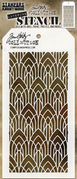 Tim Holtz Layerd Stencil – Deco Arch
