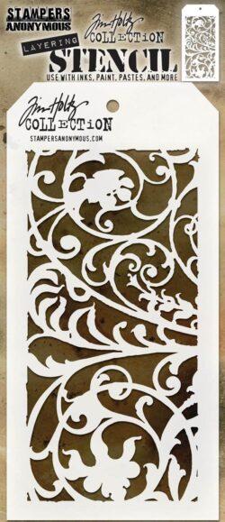 Tim Holtz Layerd Stencil – Ironwork