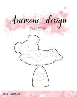 Anemone Design Die – Teddy Bear