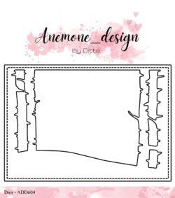 Anemone Design Die – Birch Landscape