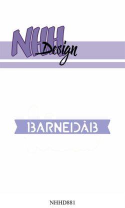 NHH Design Die – Barnedåb