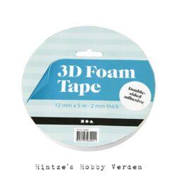 3d Skum tape 2 mm 5 meter