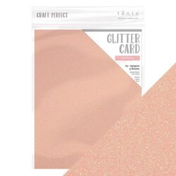 Craft Perfect – Glitterkarton – Pink frosting