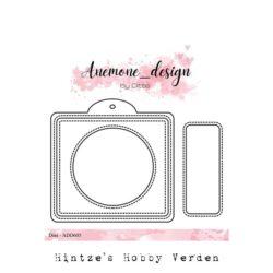Anemone Design Die – Photo Frame