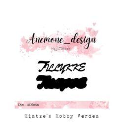 Anemone Design Die – Tillykke
