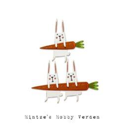 Sizzix/Tim Holtz Die – Carrot Bunny