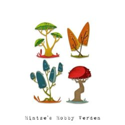 Sizzix/Tim Holtz Die – Funky Toadstools