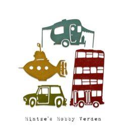Sizzix/Tim Holtz Die – Wacky Transport #1