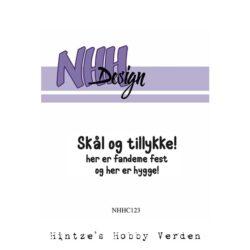 NHH Design Stempel – Skål og tillykke