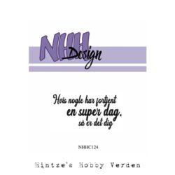 NHH Design Stempel – Hvis nogle har