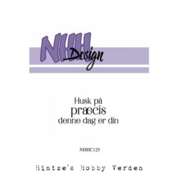 NHH Design Stempel – Husk på