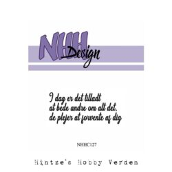 NHH Design Stempel – I dag er det tilladt
