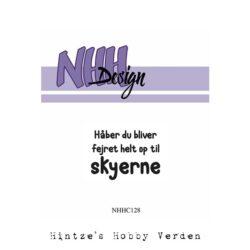NHH Design Stempel – Håber du bliver
