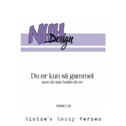 NHH Design Stempel – Du er kun