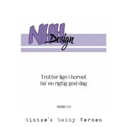 NHH Design Stempel – Trutter lige