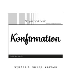Simple and Basic Die – Konfirmation
