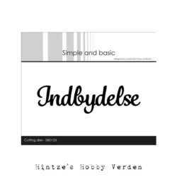 Simple and Basic Die – Indbydelse