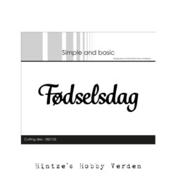 Simple and Basic Die – Fødselsdag