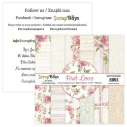 ScrapBoys – Paperpad – 15,2×15,2cm – First Love